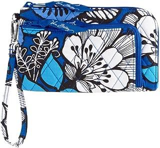 Vera Bradley Zip Zip Wristlet (Blue Bayou)
