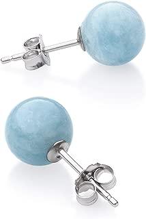 Best aquamarine stone earrings Reviews