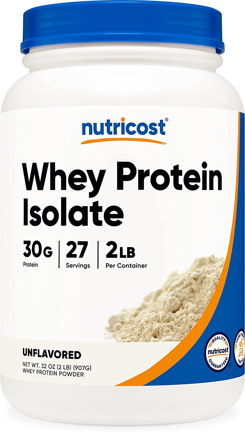 Nutricost Whey Protein 2LBS Isolate Unflavored Sales results Sacramento Mall No. 1