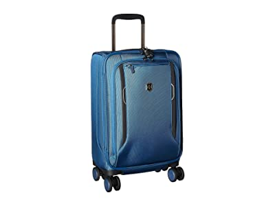 Victorinox Werks Traveler 6.0 Frequent Flyer Softside Carry-On (Blue) Carry on Luggage
