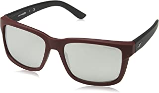 Arnette - SWINDLE AN 4218-2325/6G Sunglasses BURGUNDY BLACK/SILVER MIRROR 57mm