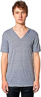 American Apparel Women's Unisex Tri-Blend Short Sleeve V-Neck