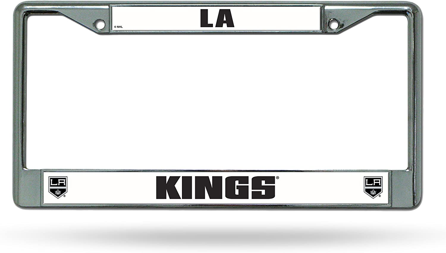 Rico Industries NHL Unisex-Adult Standard Ranking integrated 1st place Plate License Chrome F OFFer