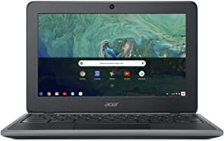 "Acer Chromebook 11 C732-C6WU Laptop with 11.6"" HD, 32GB Flash memory, Intel Celeron N3350, 4GB RAM - Black"