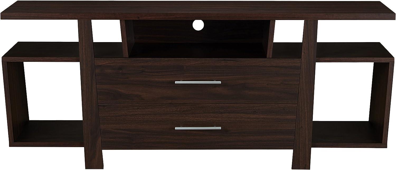 Furniture of America Max 77% OFF Durane Modern Bombing new work Multi 59-Inch TV Wood Storage