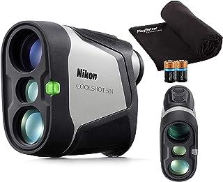 $309 » Nikon COOLSHOT 50i (2021) Golf Laser Rangefinder with Slope | Bundle Includes Carrying Case, PlayBetter Microfiber Towel, ...