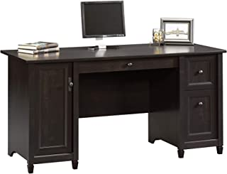 Sauder Edge Water Computer Desk, Estate Black finish