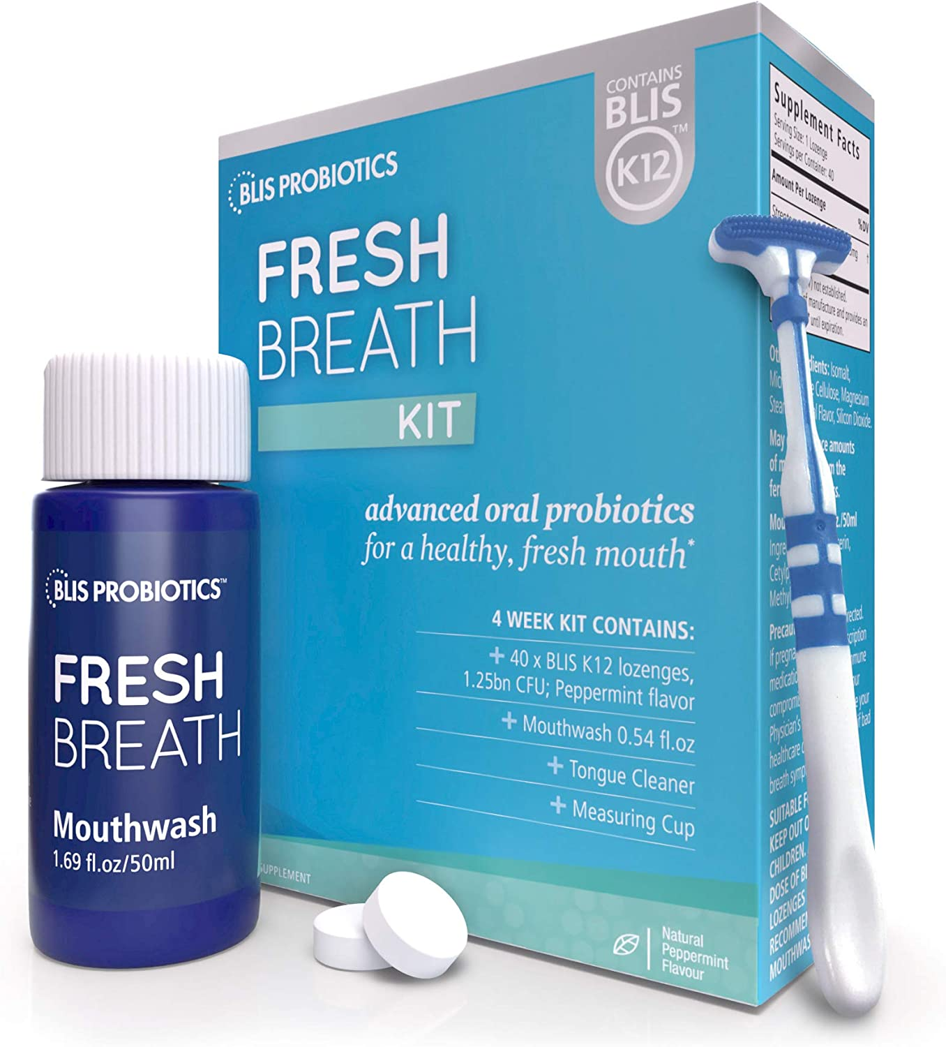 BLIS Fresh Breath Kit with Max 88% OFF K12 Probiotics Potent Cli Oral Super beauty product restock quality top!