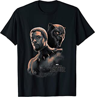 Marvel Black Panther T'Challa Unmasked Portrait T-Shirt