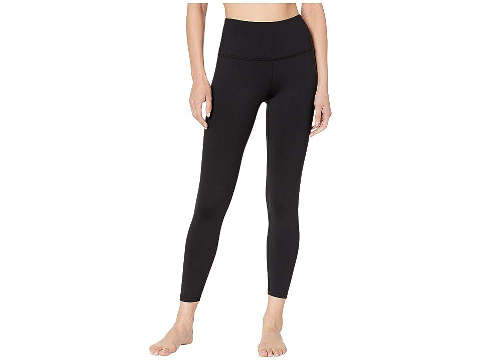Beyond Yoga Sportflex High-Waisted Midi Leggings (Black) Women
