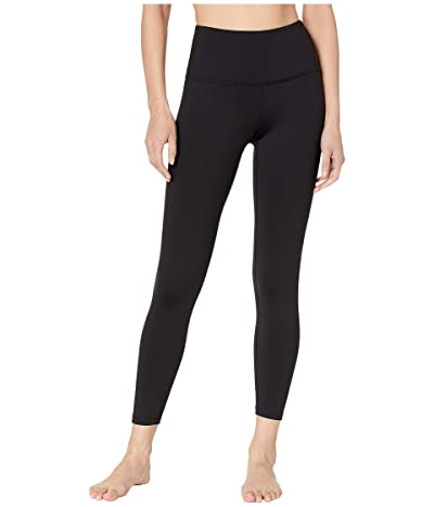 Beyond Yoga Sportflex High Waisted Midi Leggings (Black) Women