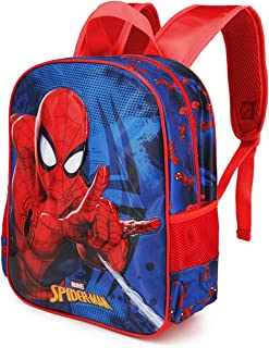 Spiderman Crawler - Mochila Basic, Multicolor