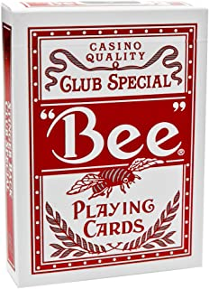 theory11 Bee Stinger Playing Cards (Red, 3.5 x 2.5-Inch)