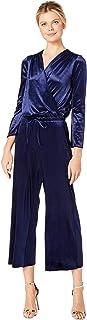 [スリードッツ] レディース ジャンプスーツ Stretch Panne Velvet Jumpsuit [並行輸入品]