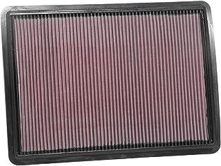 K&N 33 3077 Motorluftfilter: Hochleistung, Prämie, Abwaschbar, Ersatzfilter, Erhöhte Leistung, 2016 2019 (Ioniq, Niro)