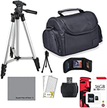 Professional Accessory Kit for All Canon, Nikon, Sony, Panasonic, Olympus Cameras, Kit Includes 8 Compact Accessories