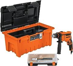 "Truper COMBO-100, Combo rotomartillo, de 600w, caja de herramientas, de 19"" y organizador de 15"""