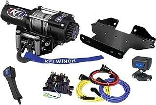 KFI Combo Kit - A3000 Winch & Winch Mount - Kawasaki Brute Force 650/750 4x4