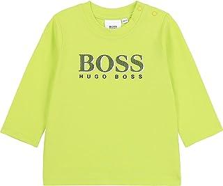BOSS Camiseta de algodón con Logo Infantil