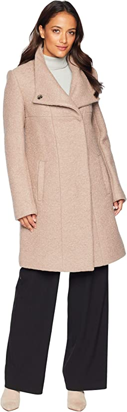 Wool Asymmetrical Coat