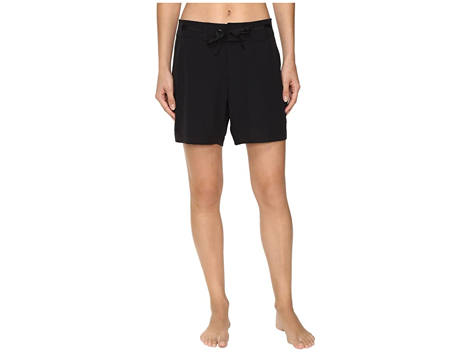Next by Athena Good Karma Beachbreak Boardshorts (Black) Women