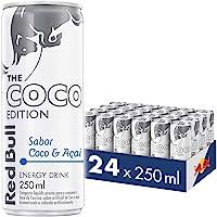 Energético Red Bull Energy Drink, Coco e Açaí, 250 ml (24 latas)