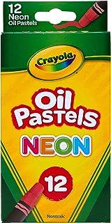 پاستا روغن Crayola، رنگ نئون های مختلف، هدیه برای کودکان و بزرگسالان، 12 تعداد