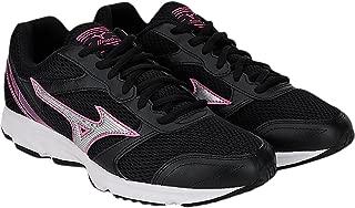 Mizuno Maximizer 18 (W) Women's Running Shoe (Black/Silver/Fuchsia Purple)