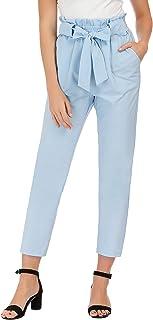 GRACE KARIN Women's Pants Trouser Slim Casual Cropped...