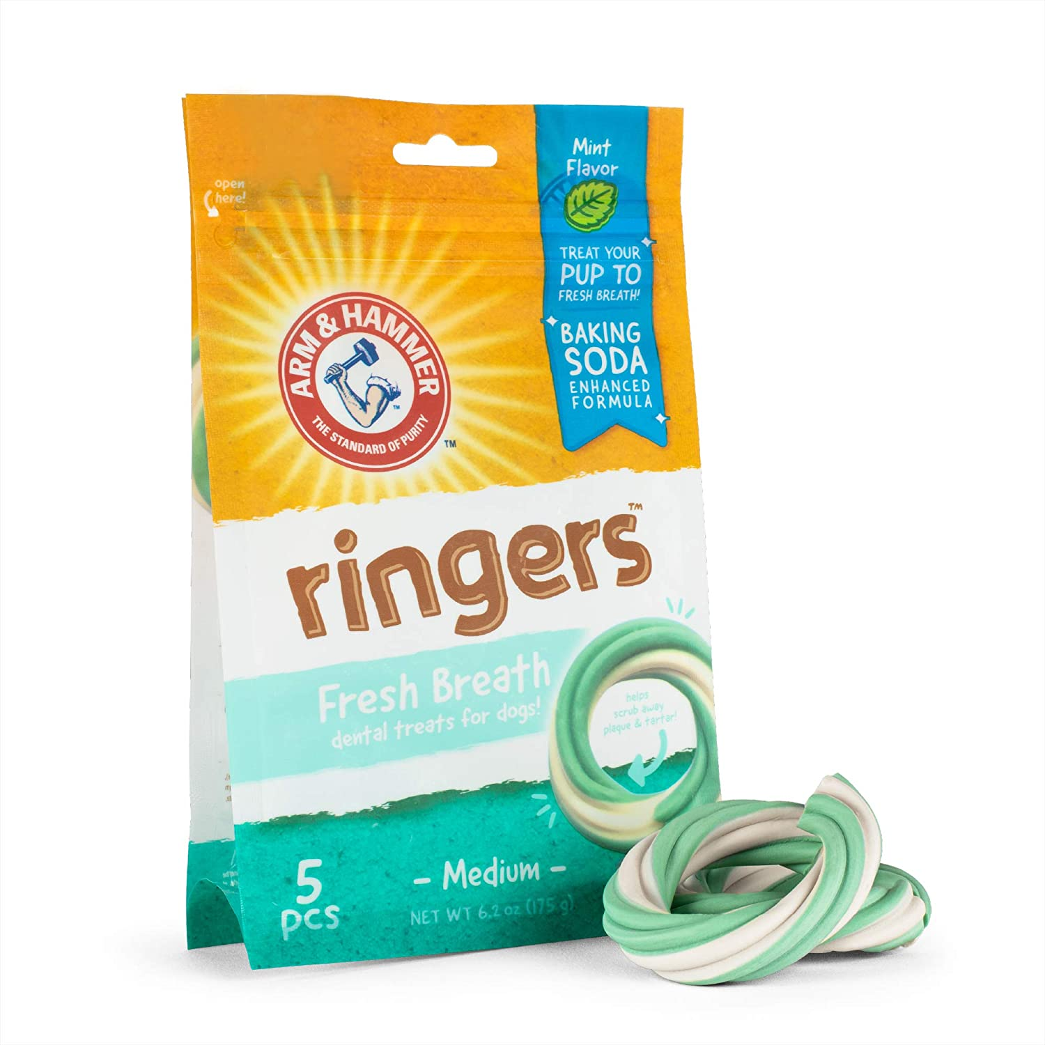 Arm Hammer for Pets Price reduction Ringers Dogs Brea Treats Dental Fresh Online limited product
