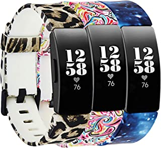 Molitececool Soft TPU Wristband Compatible for Fitbit Inspire HR/Fitbit Inspire Bands Adjustable Strap Replacements Access...