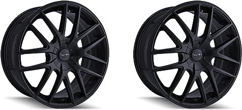 Touren TR60 17x7.5 Matte Black Wheel / Rim 5x110 & 5x115 with a 42mm Offset and a 72.62 Hub Bore. Partnumber 3260-7711FMB
