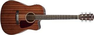 Fender Beginner Acoustic-Electric Guitar CD-140SCE - All Mahogany - Dreadnought - Cutaway