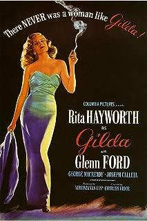 American Gift Services - Gilda Rita Hayworth Vintage Movie Poster - 24x36
