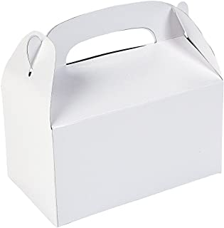 Fun Express Treat Boxes (1 Dozen), White