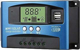 gazechimp Controlador Portátil de Carga Solar, Painel Solar de Luxo, Porta USB Dupla, Painel Solar, Bateria, Controlador I...
