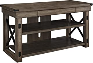 Ameriwood Home 1735096 Wildwood Wood Veneer TV Stand for TVs up to 50