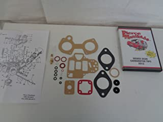 WEBER 40 DCOE 45 DCOE CARBURETOR REBUILD KIT 2.00 N/S WITH DVD ON DCOE WEBER'S