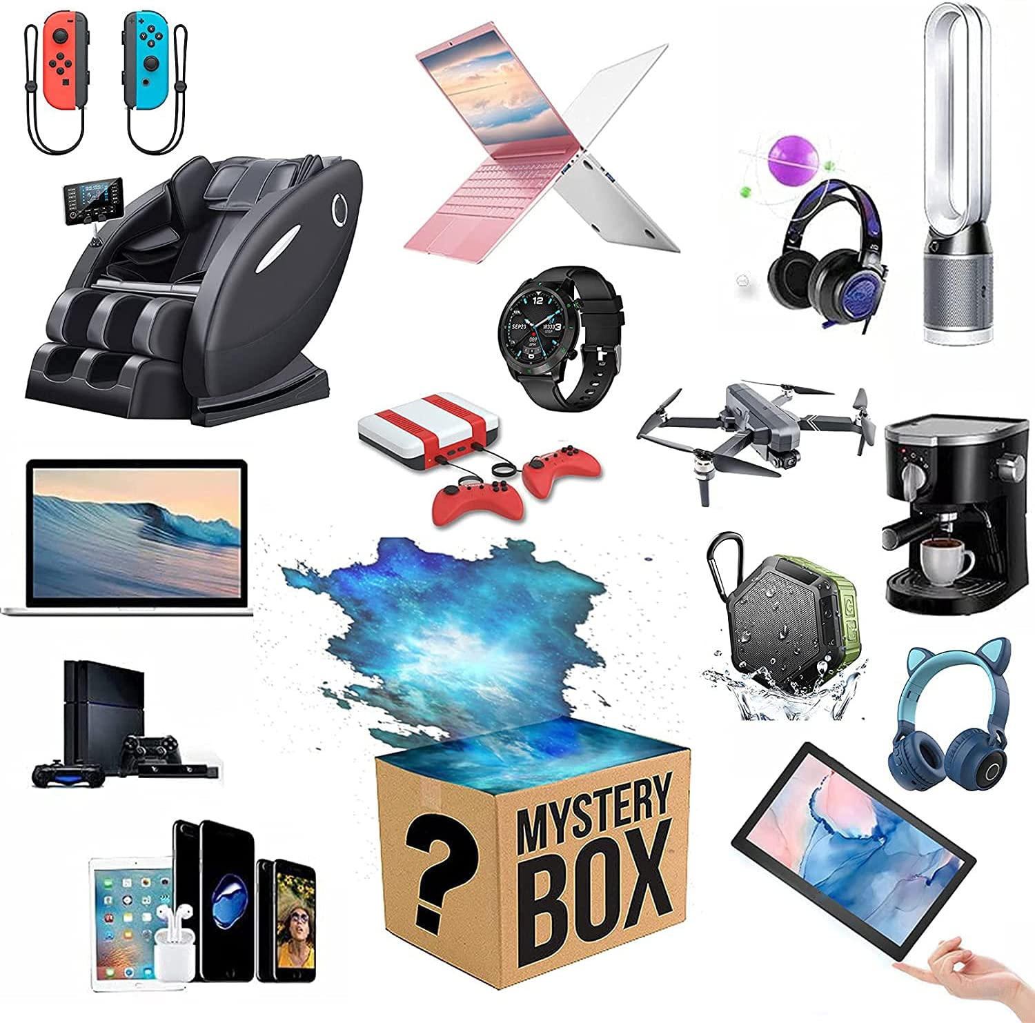 Lucky Box ! Super beauty product restock quality top! Blind half Mystery Gift Products for Electronic