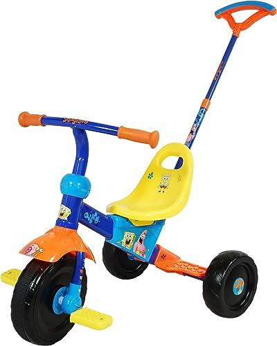 Bob Esponja Spongebob Schwammkopf Dreirad mit Henkel Saica Toys 8329