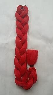 X-pression Premium Original Ultra Braid 82inch 165g Color (Red)