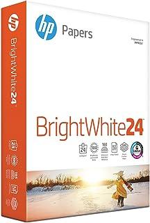 HP Printer Paper, Bright White InkJet Copy Paper, 24lb, 8.5 x 11, Letter, 97 Bright - 1 Pack / 500 Sheets (203000R)