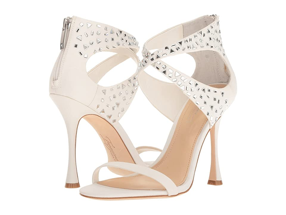 Imagine Vince Camuto Ramel (Pure White Crepe) High Heels