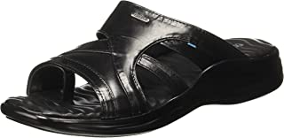 Coolers (from Liberty) Men's 2013-110N Black Leather Hawaii Thong Sandals-8 UK/India (42 EU) (2013074100420)