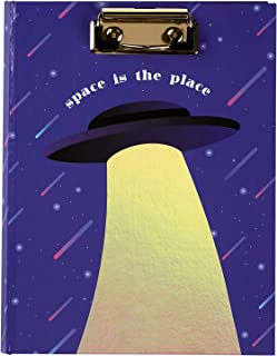 C.R. Gibson ''Space is the Place'' Small Clipboard Padfolio for Girls, 7'' x 9.25''