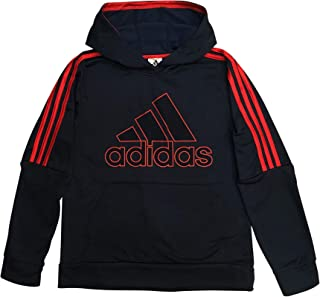 Boys' Active Sport Athletic Pullover Hooded Sweatshirt