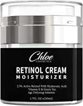 Sponsored Ad - Retinol Moisturizer for Face and Eye area   Anti Aging Cream with Hyaluronic Acid, 2.5% Active Retinol and ...