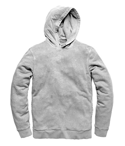 Outerknown Sur Snap Hoodie (Heather Grey) Men