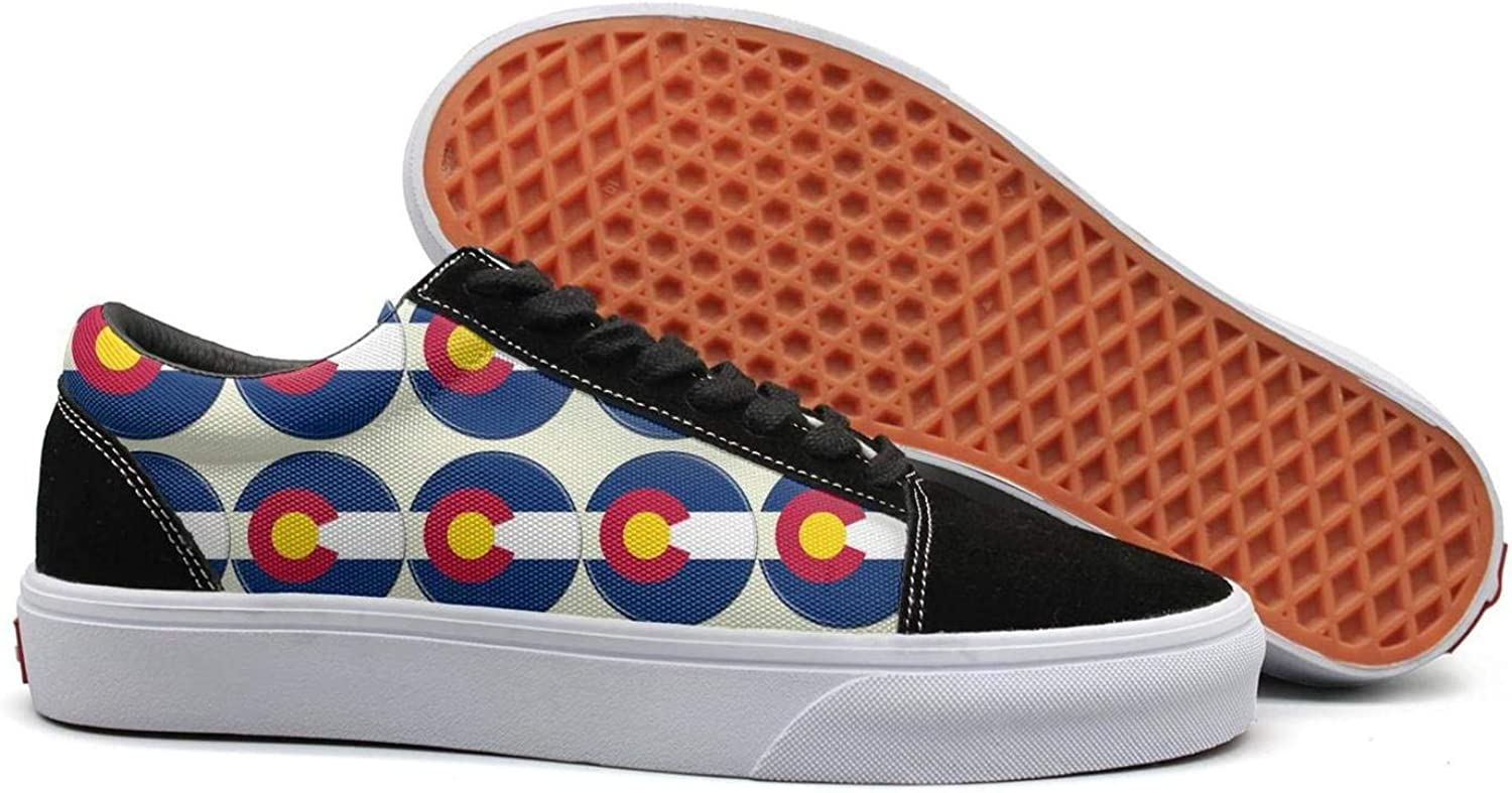 PDAQS colorado Sign Women Canvas shoes oldskoo Tenis shoes Low top