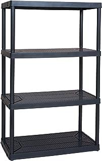 Gracious Living Heavy Duty Non Adjustable Ventilated Storage Shelving, 4 Shelf